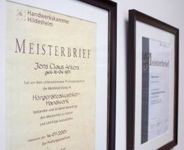 Hörsysteme Ahlers Osterholz-Scharmbeck Meisterbrief